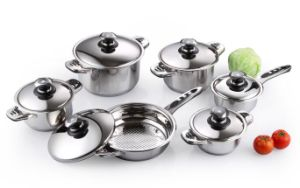 Stainless Steel - 12 PCS Cookware Set pictures & photos