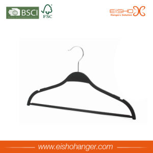 Good Quality Fashion Plastic Garment Hanger pictures & photos