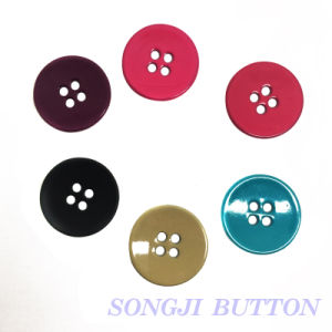 18mm 4 Hole Metal Alloy Button for Garment Accessories pictures & photos