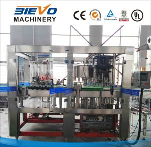 Glass Bottle Flavor Drink Washing Filling Capping Machine pictures & photos