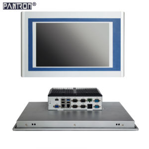 intel J1900 CPU 19 inch industrial embedded panel PC with 6 *RS232 pictures & photos