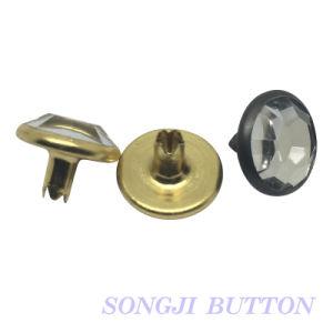 Fashion Metal Garment Accessories 11mm Diamond Rivet Cap pictures & photos