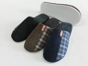 2017 New Style Indoor Winter Nice Warm Slipper for Men pictures & photos