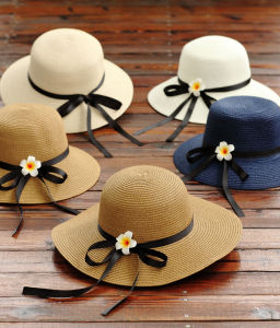 Khaki Women Hat Straw Hats pictures & photos
