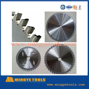 Types Circular Tct Saw Blade for Wood and Metal Cutting pictures & photos