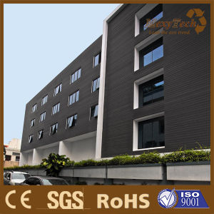 Exterior Materials WPC Wall Panels Outdoor Cladding for Decoration pictures & photos