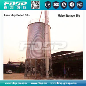 Hot Sale Galvanized Steel Silo Tank for Pellets Feed Storage pictures & photos