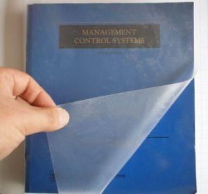 Adhesive Transparent Book Cover 45cmx8 Yards (JN-0309) pictures & photos