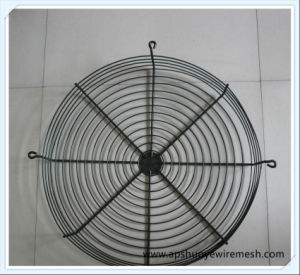 Wire Steel Fan Guard ISO9001 White Round Fan Guard Grill pictures & photos