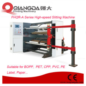 Fhqr Series High-Speed PE Film Slitting Machine pictures & photos