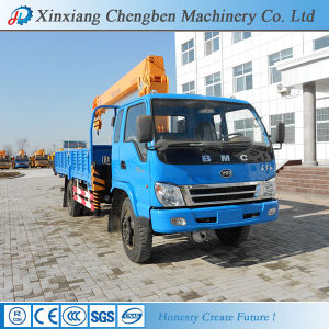 Mini Hydraulic 8 Ton Truck Mounted Crane pictures & photos