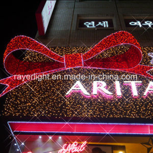 Outdoor Large Lighting Bowknot LED Christmas Light pictures & photos