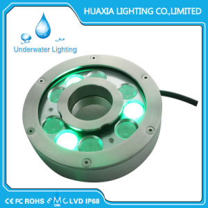 24V IP68 RGB Stainless Steel Fountain LED Landscape Lamps pictures & photos