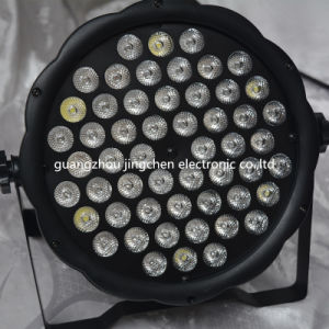 54*3W Mini LED PAR Can/ LED Flat PAR Light pictures & photos