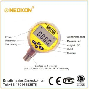 Battery Powered High Accuracy Digital Pressure Meter pictures & photos