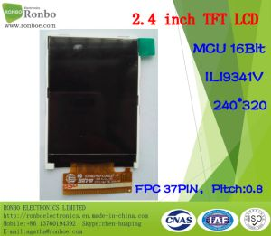 "2.4"" 240*320 MCU 16bit 37pin Wide View Angle TFT LCD with Touch Screen pictures & photos"