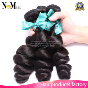 Brazilian Human Hair Extension Weaving (QB-BVRH-LW) pictures & photos