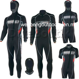 High Quality Heiwa Sheico Yamamoto Neoprene Camo Style Freediving Scuba Diving Spearfishing Wetsuit with Adhesive., 01