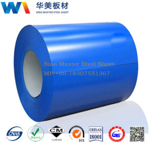 Color Coated Coil Steel, Gi Plain Sheet, PPGI Galvanized Steel Coil pictures & photos