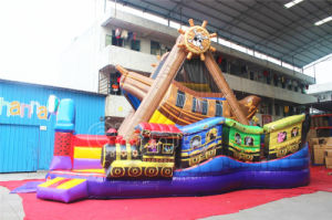 Pirate Ship Inflatable Jumping Bouncer Obstacle for Children (CHOB520-1) pictures & photos