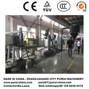BOPP Film Recycling Pelletizing Machine with Vertical Watering Die Face Cutting pictures & photos