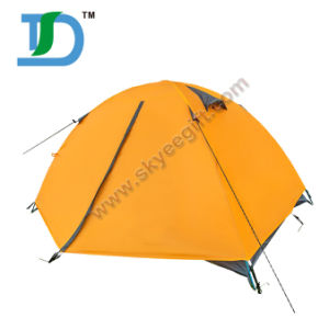 Outdoor Frame Canvas Military Yellow Camping Army Hiking Tent pictures & photos