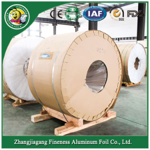 Factory Container Aluminum Foil Jumbo Roll High Grade pictures & photos