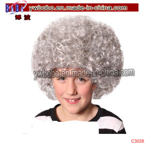 Kids Afro Wig Halloween Carnival Novelty Party Decoration (C3028) pictures & photos