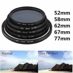 Giai High Performance Anti-Reflective CPL Circular Polarizing Opitcal Filters pictures & photos