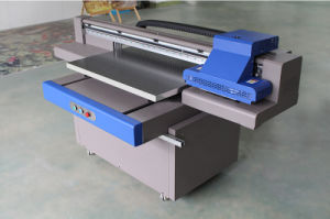 A1 LED Flatbed UV Printer for Acrylic Wood Glass Metal pictures & photos