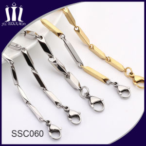 Latest Designs Silver Color Stainless Steel Chain for Men pictures & photos