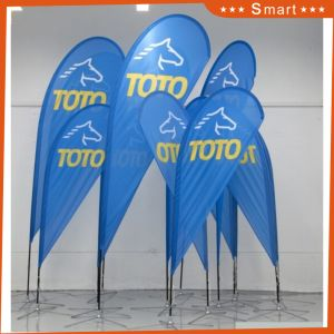 Promotional Outdoor Advertising Feather Flag pictures & photos