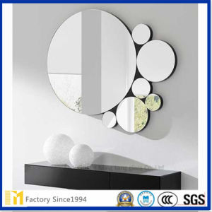 Round Shape 4mm 5mm Safe Mirror for Bathroom pictures & photos