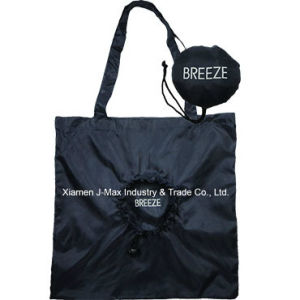 Foldable Shopper Bag, Promotion Bags, Breeze Word Style, Reusable, Lightweight, Grocery Bags and Handy, Gifts, Promotion, Tote Bag, Decoration & Accessories pictures & photos