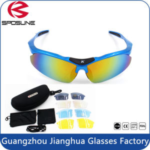 Fast Delivery in Stock High Impact Frame UV400 Blocking Bike Riding Sport Sun Glasses pictures & photos