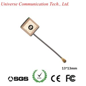 Factory Price High Gain Internal 1575.42MHz Dielectric Ceramic GPS Patch Antenna with Ipex/U. FL Connector pictures & photos