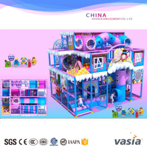 2017 Vasia Candy Theme Children Playground Indoor Equipment pictures & photos