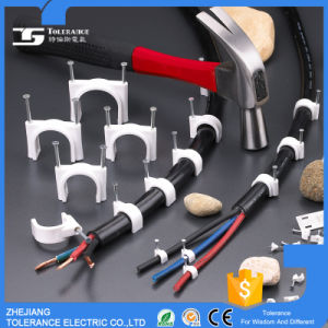Nail Cable Clip/Plastic Nail C Type Clip/Cable Holder Clips