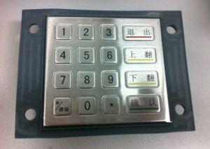 Best Waterproof Metal Numeric Keypad (KMY3502B-DC) pictures & photos