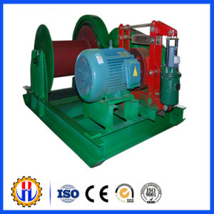 Large Capacity Electric Powered Construction Winch pictures & photos