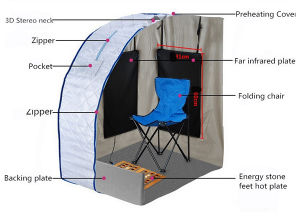 Mini Outdoor Sauna Foldable Portable Steam Sauna Room pictures & photos