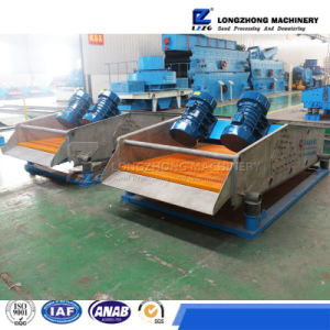 2017 High Efficiency Professional Vibrating Linear Screen Machine for Sand Dewater pictures & photos