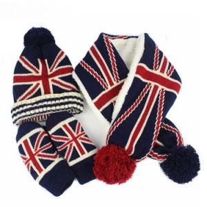 Winter Hat Acrylic Jacquard Beanie Hat Custom Knit Hat POM POM Beanie Hat Knitted Hat pictures & photos