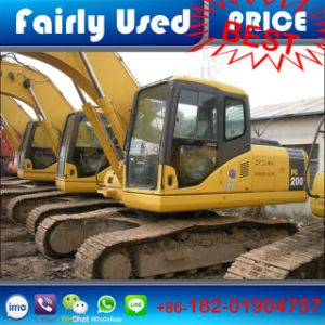 Wholesale Japan Origin Second Hand PC200-7 Excavator of Komatsu Excavator