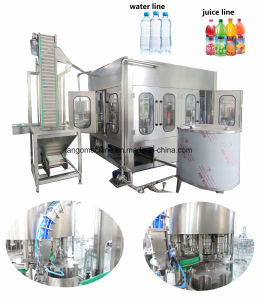 Auto Drinking Liquid Filling Packing Bottling Machinery Production Line for Pet Bottle pictures & photos