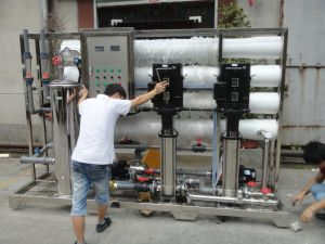 Kai Yuan Solar Power Reverse Osmosis System RO Water Equipment pictures & photos
