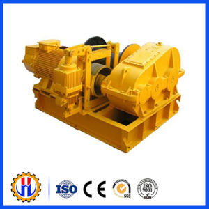 Construction Hoist Electric Worm Gear Winch pictures & photos