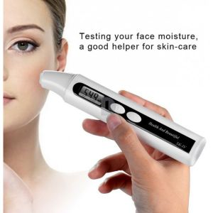 Electric Skin Moisture Analyzer Sensor Meter LCD Digital Display Moisture Testing Pen Health Beauty Monitor pictures & photos