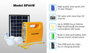 Solar Lighting System with LED Light pictures & photos