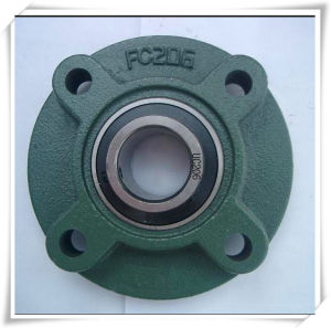 Flange Units-Cartridge 4 Bolt Ucfc 200 Series Set Screw Locking Pillow Block Bearing/Mounted Units pictures & photos